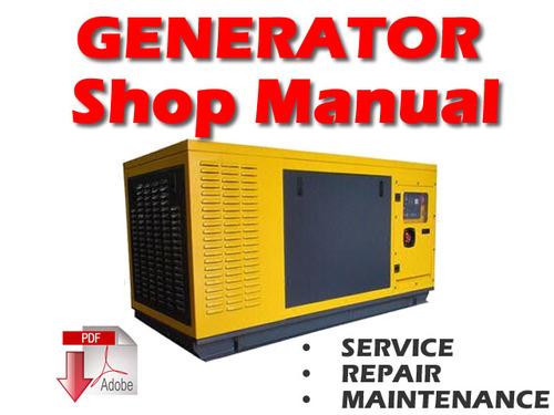 Product picture Komatsu EG175S-2 Engine Generator Service Repair Manual PDF